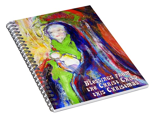 Christmas Blessings Spiral Notebook
