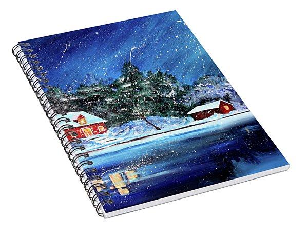 Christmas Eve Spiral Notebook