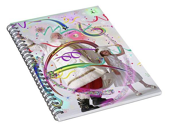 Christmas Magic Spiral Notebook