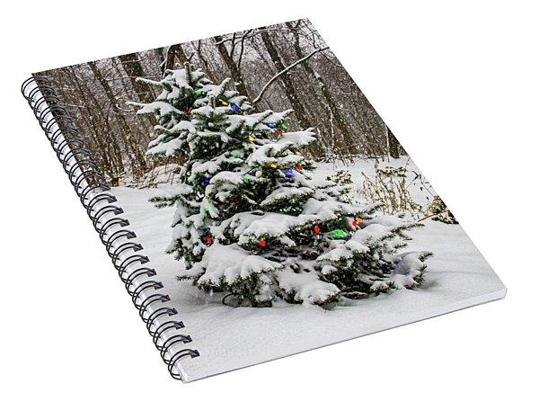 Christmas Spruce Spiral Notebook