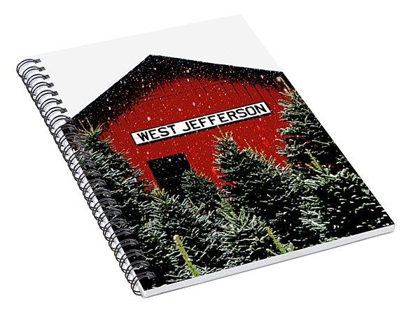 Christmas Town Spiral Notebook