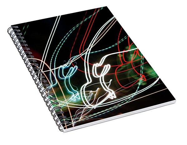 Circles Of Chaos Spiral Notebook