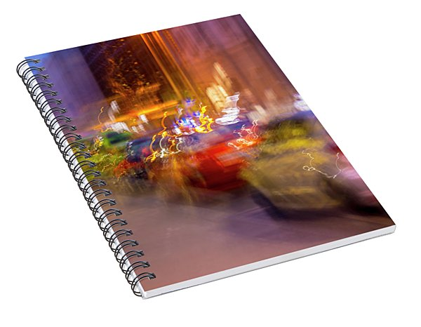 City Street Spiral Notebook