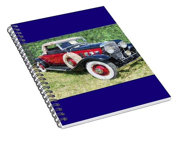 Classy Ride Spiral Notebook