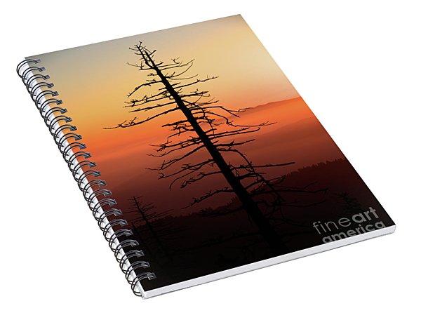 Clingman's Dome Sunrise Spiral Notebook