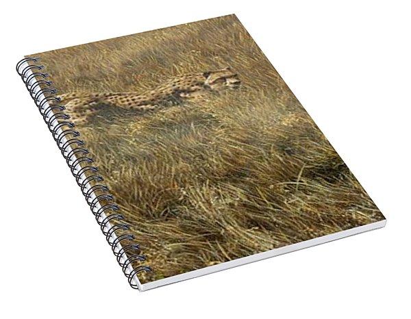 Closing In Fast Spiral Notebook