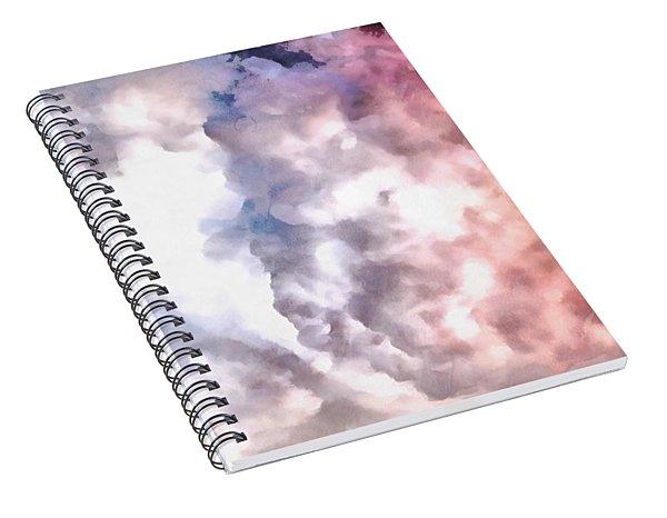 Cloud Sculpting 3 Spiral Notebook