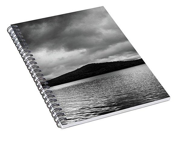 Clouds Over Wyman Lake Spiral Notebook