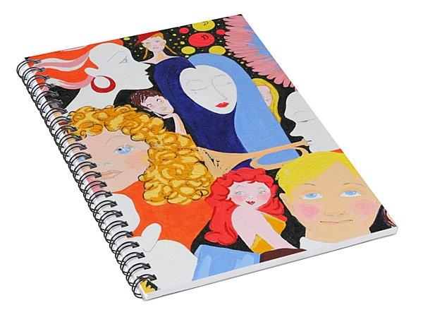 Send In The Clowns Spiral Notebook