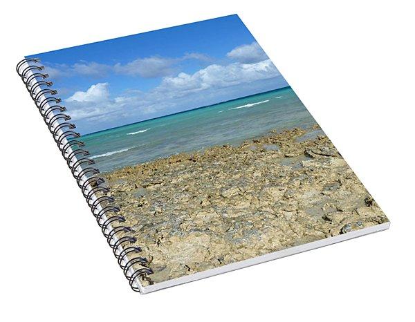 Coast Sea And Sky Spiral Notebook
