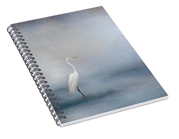 Coastal Egret Spiral Notebook