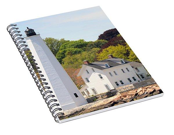 Coastal Lighthouse-c Spiral Notebook