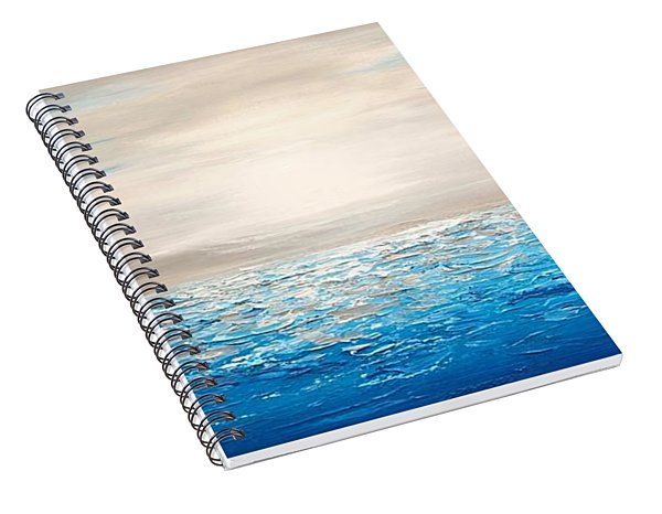 Coastal_4 Spiral Notebook
