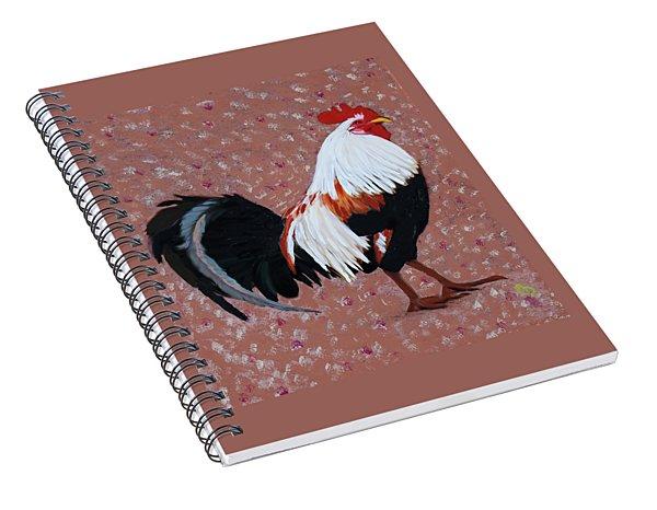 Cock A Doodle Doo Spiral Notebook