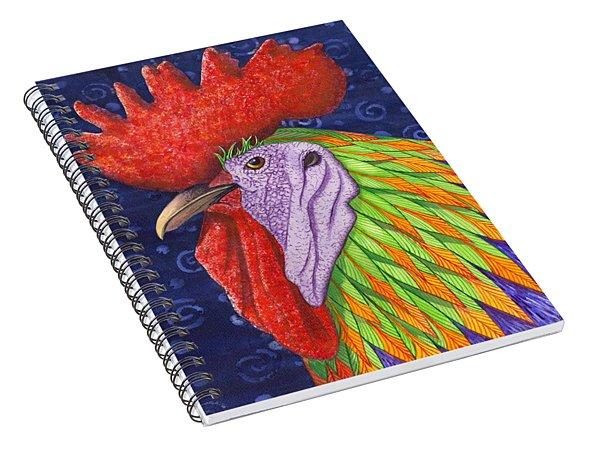 Cock A Doodle Dude IIi Spiral Notebook