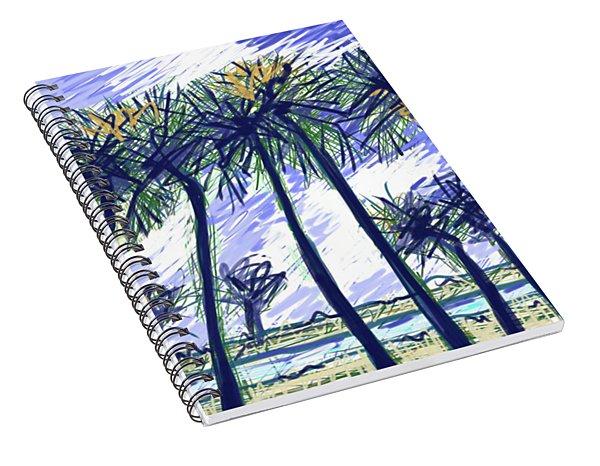 Coconut Point Spiral Notebook