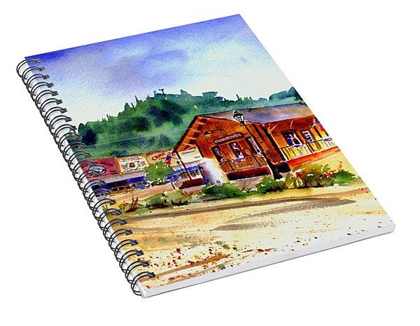 Colfax Rr Junction Spiral Notebook