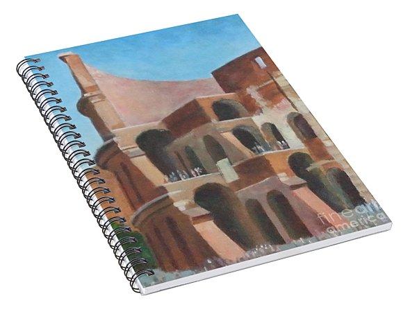 Coliseum Spiral Notebook