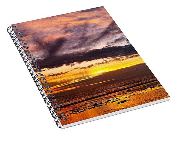 Color Burst Malibu Sunset Spiral Notebook