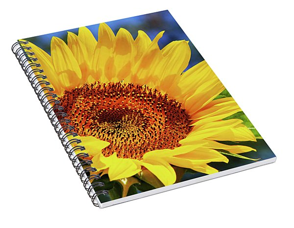 Color Me Happy Sunflower Spiral Notebook
