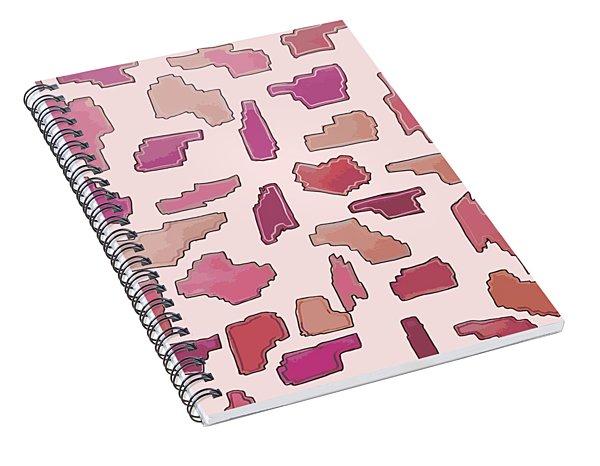Color Pattern 2 Spiral Notebook