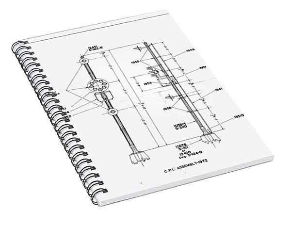 Color Position Light Ground Signals Spiral Notebook