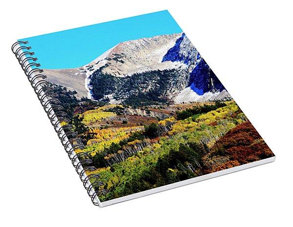 Colorado Autumn 2016 West Elk Mountains Spiral Notebook