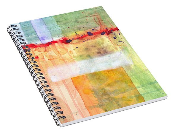 Colorfields Watercolor Spiral Notebook