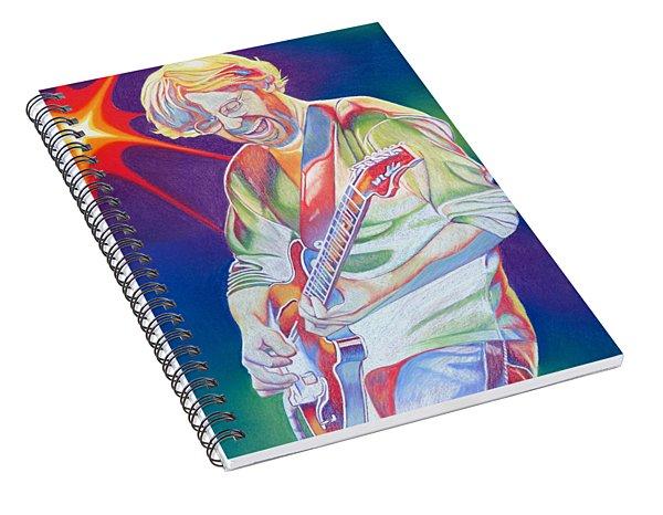 Colorful Trey Anastasio Spiral Notebook