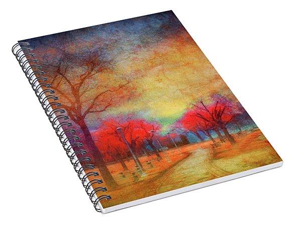 Colour Burst Spiral Notebook