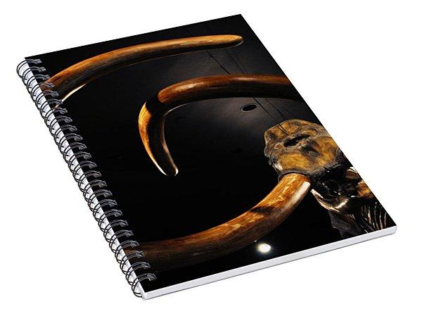 Columbian Mammoth La Brea Tar Pits Spiral Notebook