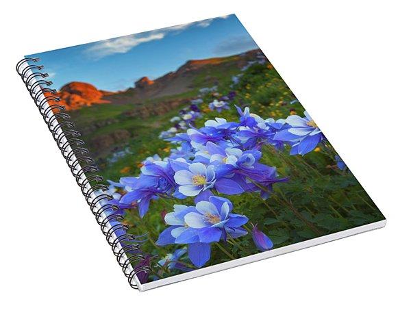 Columbine Sunrise Spiral Notebook