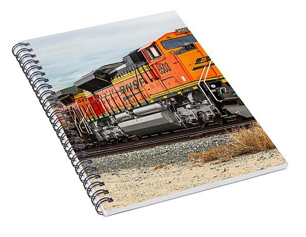 Coming Through Livingston Spiral Notebook