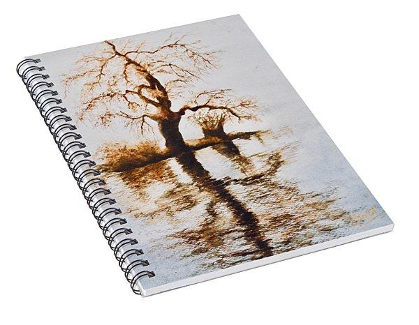Como Lake Reflections Spiral Notebook