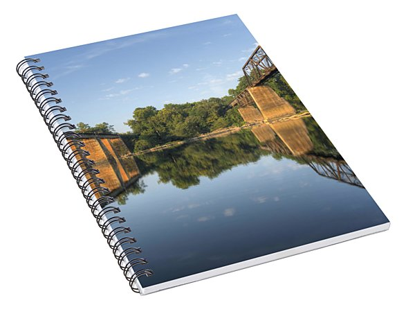 Congaree River Rr Trestles - 1 Spiral Notebook
