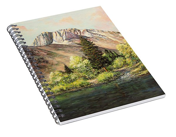 Convict Lake In May Spiral Notebook