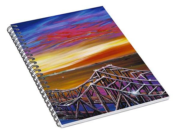 Cooper River Bridge Spiral Notebook