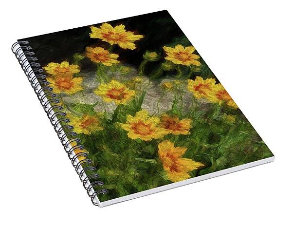 Coreopsis Tickseed Spiral Notebook