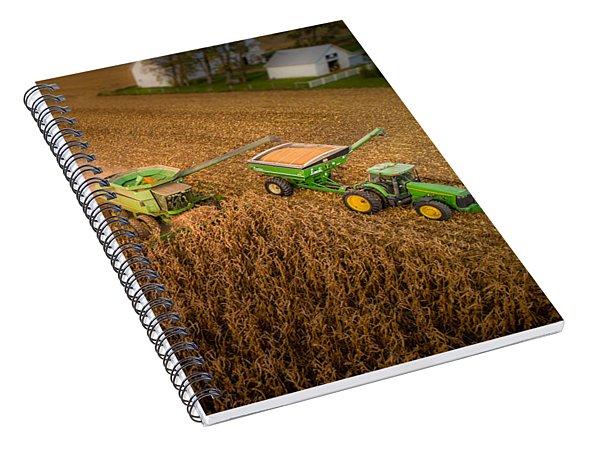 Corn Dust Spiral Notebook