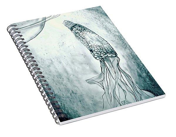 Corn In Space Spiral Notebook
