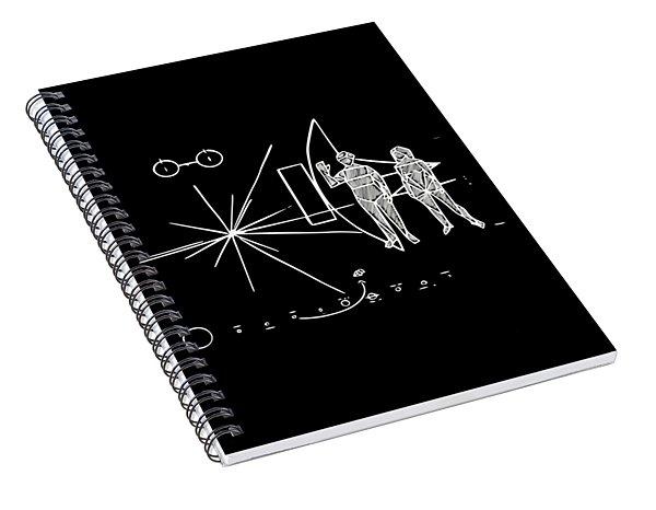 Cosmos Greetings  Spiral Notebook