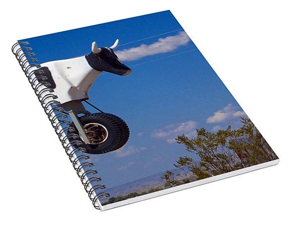 Cow Power Spiral Notebook