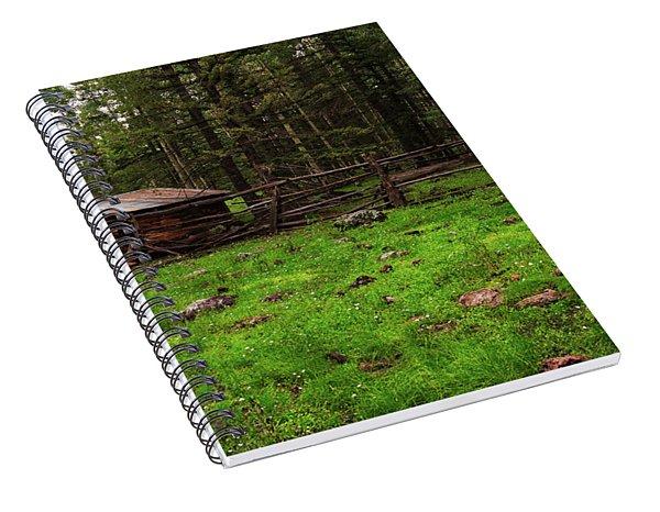 Cowboy Camp Spiral Notebook