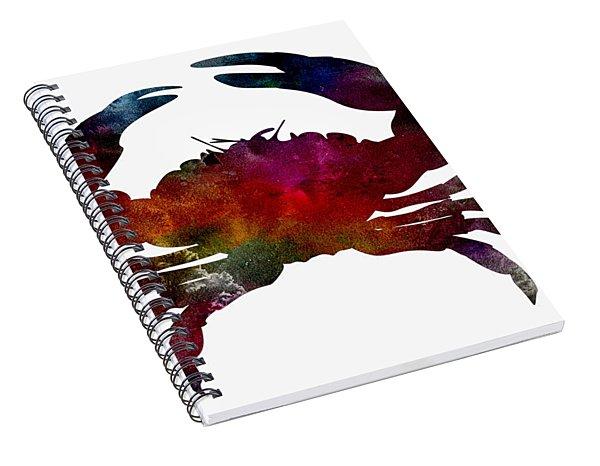Crab Nebula Spiral Notebook