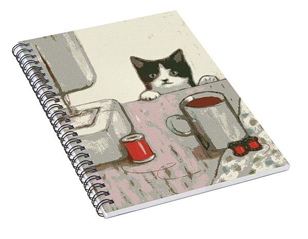 Crafty Cat #2 Spiral Notebook