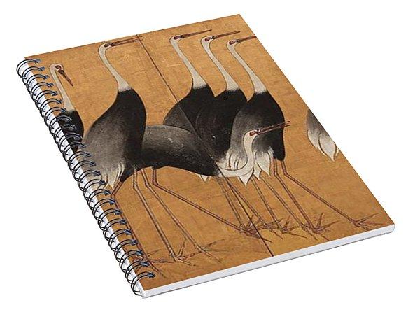 Cranes Spiral Notebook