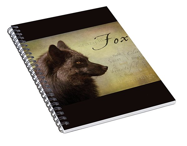 Crazy Like A Fox Spiral Notebook