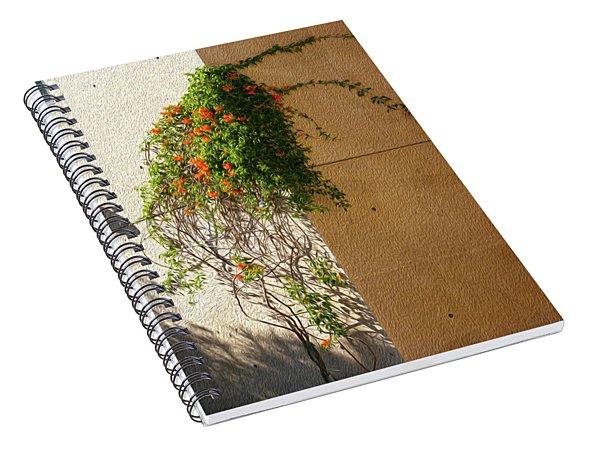 Creeping Plants Spiral Notebook
