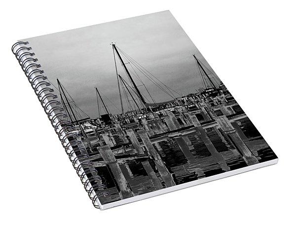 Crosses Spiral Notebook