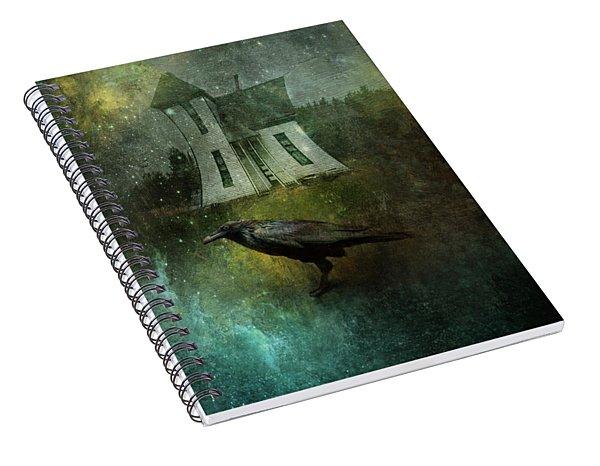 Crow House Spiral Notebook